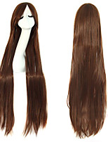 Cosplay Fashion Must-have Girl Brown Quality Long Straight Hair Wig
