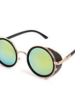 100% UV400 Round Vintage Punk Sunglasses