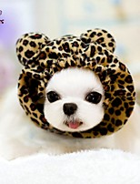 FUN OF PETS® Cute Leopard  Cosplay Pet Headgear with Ears for Pets Dogs and Cats (Assorted Colours)