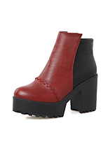 Women's Shoes    Heels / Platform / Fashion Boots Boots Outdoor / Office & Career / Casual Chunky Heel  &16-3