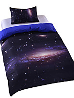 New Galaxy Outer Space Duvet Cover Set Bedding