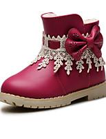 Baby Shoes - Matrimonio / Tempo libero / Formale / Casual - Stivali / Sneakers alla moda - Finta pelle - Blu / Rosa / Rosso