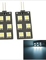 Car G4 Connector Rear Tail Box Lamp/Footlight/Door Light--White Light