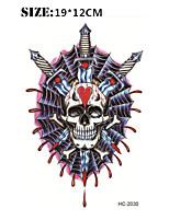 Tatuaggi adesivi - Serie totem / Altro - Brand New - Da donna / Da uomo / Adulto / Teen - 1 - Modello - di Carta - 12cm(W)*19cm(L) -