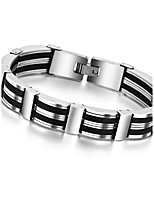 Fashion Men Titanium Steel Magnetic Bracelet Business Bangle Health Wristband Link Chain Luxury Jewelry Friendship Gifts