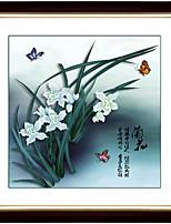 diy kit de ponto cruz, floral 59 * 59