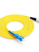 shengwei® sc (upc) -fc (upc) monomodo cable simple parche de fibra 3m / 5m / 10m