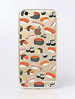 For iPhone 5 Case Case Cover Ultra-thin Transparent Pattern Back Cover Case Food Soft TPU for iPhone SE/5s iPhone 5
