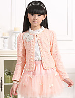 Cindys Girl's Sweet Style Three Peices Sets of Princess Dresses (Mesh/Others/Polyester)