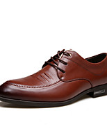 Men's Shoes Office & Career / Casual Leather Oxfords Black / Brown