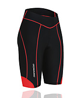 Getmoving Women's / Men's Spring / Summer / Autumn / Winter Four pin six line bike shorts/Red black