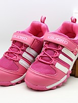 Girls' Shoes Casual Comfort Fabric Fashion Sneakers Pink