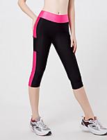 Women Solid Color Legging , Nylon Medium