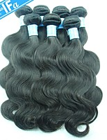 Malaysian Body Wave Hair Extension Human Virgin Hair Full Ends and Thick Bundles Color 1B