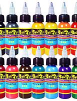 Solong Tattoo Ink 14 Colors Set 1oz 30ml/Bottle Tattoo Pigment Kit