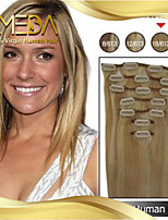 14inch-22inch 7Pcs 70g Clip in Human Hair Extension Straight Many Colours Available