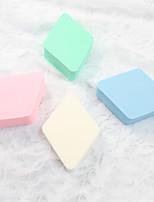 Top Face Mujer Cara de limpieza Cepillos Rostro / Ojos / Labios / cuello / Mano Esponjas Naturales Azul / Rosa / Verde / Color Beige