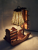 Creative Wooden Toys Garden Table Lamp Decoration Craft