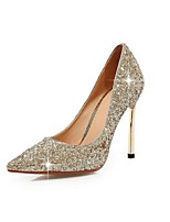 Women's Shoes  Stiletto Heel Pointed Toe Pumps/Heels Wedding/Party & Evening/Dress Black/Blue/Red/Silver/Gold