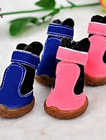 FUN OF PETS® Lovely Floss Fastener Tape Shoes for Pets Dogs(Assorted Sizes and Colours)