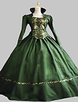 periodo vestido ropa teatro vestido victoriano gótico steampunk®green