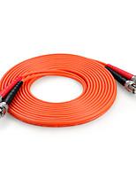 shengwei® st (UPC) -St (UPC) multimode âme double fibre cordon de raccordement 3m / 5m / 10m