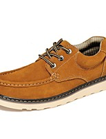 Men's Shoes Outdoor / Athletic / Casual Suede Oxfords Black / Brown
