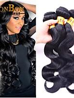 4pcs/lot Indian Virgin Human Hair Body Wave Pretty Weaving