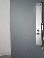 Shower Panel Contemporary Waterfall / Rain Shower / Sidespray / Handshower Included Stainless Steel Chrome
