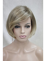 Ombre Wig Straight Fashion Wig Short Blonde Mix TOP Quality Hair Wigs
