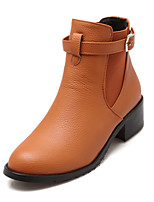 Women's  Low Heel Round Toe / Closed Toe Boots