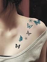 (1pcs)HC03-Colorful Butterfly New Design Fashion Temporary Tattoo Stickers Temporary Body Art Waterproof Tattoo Pattern