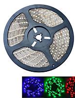 JIAWEN® 5 M 300 5050 SMD RGB A Prueba de Agua 60 W Tiras LED Flexibles DC12 V