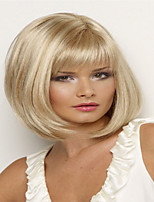 Women's Fashion Short Hair Wig  with Full Bang Synthetic Wigs Hair