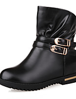 Women's Shoes Platform Fashion Boots / Comfort Boots Outdoor / Office & Career / Casual Black / Brown / Beige