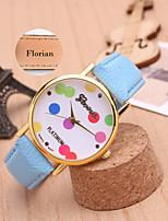 Personalized Gift Minimalist Fashion Lady Leather Watch