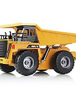 RC Auto - Camion - DODOELEPHANT - Dump truck - Elettrico con spazzola - 1:22
