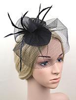Women Fabric Hair Clip , Cute / Party Veils  Headpiece