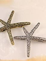 Seesterne retro Metallhaarclips koreanische Pop-Haar Kopfschmuck