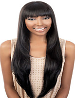 European Style Fashion Hair Black High Quality Synthetic Wigs