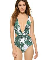 Hangmei Bamboo Piece Bikini Swimsuit 8729