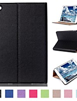 7.9 Inch Two Folding Pattern High Quality PU Leather Case for iPad Mini 4(Assorted Colors)