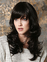Fashion Foutique in Europe And The  Long Curly Wig Nature in A  Wig Can Be Very Hot Can  Be Dyed Black