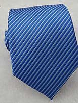 Men's Classic Fashion Striped Microfibre Woven Necktie 8 colours available