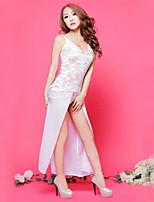 Women Lace Lingerie Nightwear , Lace / Organza