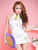 Women Uniforms & Cheongsams Nightwear , Satin