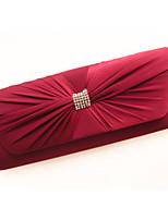 Women Event/Party / Wedding Denim Push Lock Clutch / Evening Bag