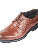 Men's Shoes Outdoor / Office & Career / Casual Leather Oxfords Brown