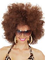 Hot High Fashion Festival Wig Natural Brown Curls