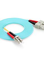 shengwei® 10 gig lc / upc-sc / multimodo OM3 upc doble núcleo puente de fibra óptica de 3 m / 5m / 10m